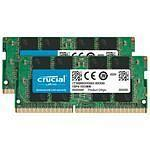 Crucial SO-DIMM DDR4 64 Go (2 x 32 Go) 3200 MHz CL22 DR X8